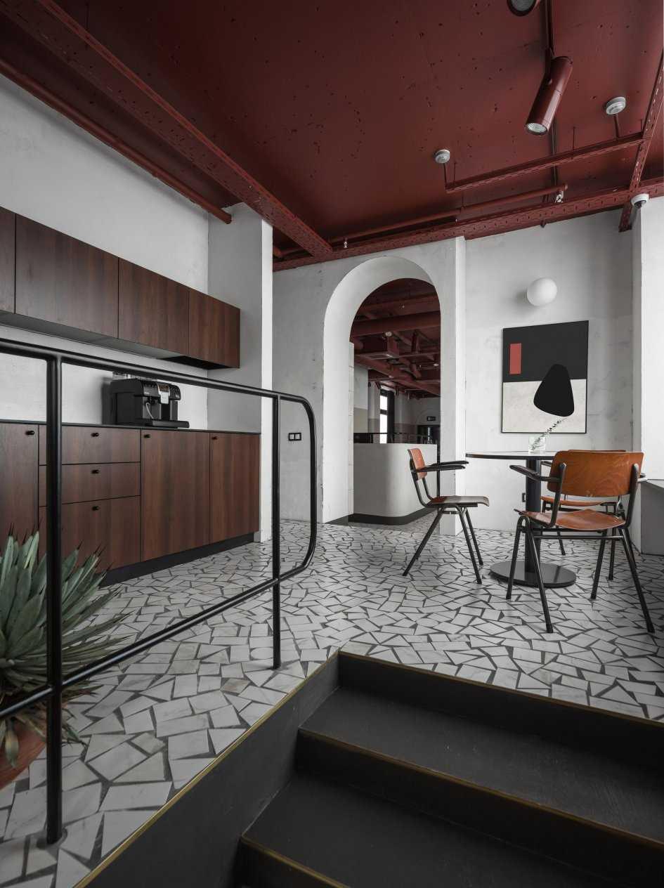 istabas gaišā interjera variants padomju stilā