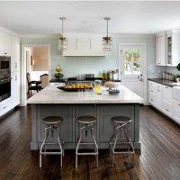 opcija skaista virtuves stila fotoattēla uzklāšanai
