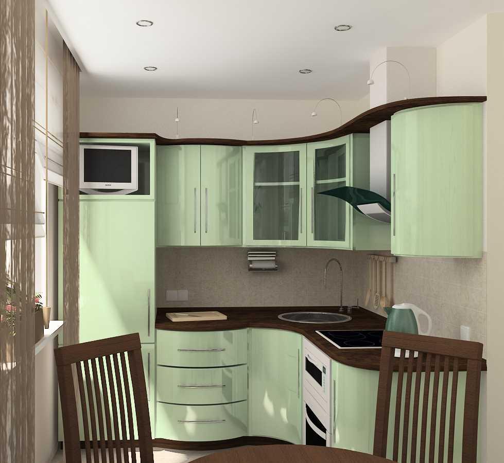 neparasta virtuves stila izmantošanas piemērs