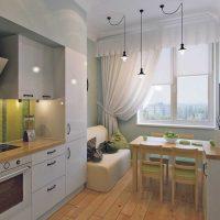 vieglas virtuves dizaina attēla izmantošanas piemērs