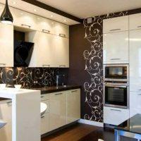 neparasta virtuves attēla dizaina piemērošanas piemērs