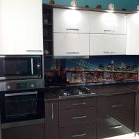 ideja par gaismas virtuves dekoru foto izmantošanu