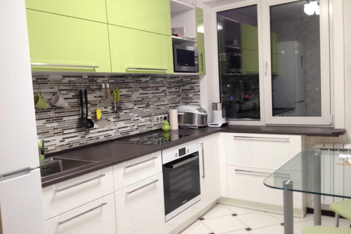 spilgta virtuves dizaina pielietojuma piemērs