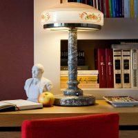 interesanta istabas stila variants padomju stila attēlā