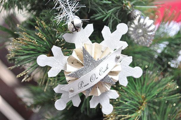 Ziemassvētku sniegpārslas