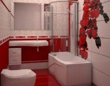 sarkana vannas istaba