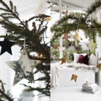 koks jauna gada dekorēšanai
