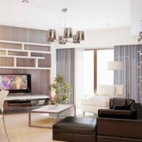 neliela dzīvokļa interjera dizains