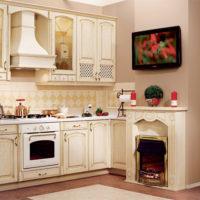 conception de cuisine avec des idées de photo de boîte de ventilation