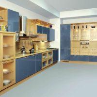design de cuisine avec évent