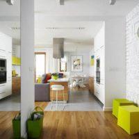 neliela dzīvokļa dizains