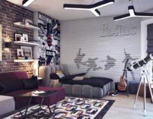 kambario dizainas paaugliui
