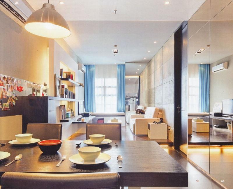 mazu dzīvokļu dizaina idejas