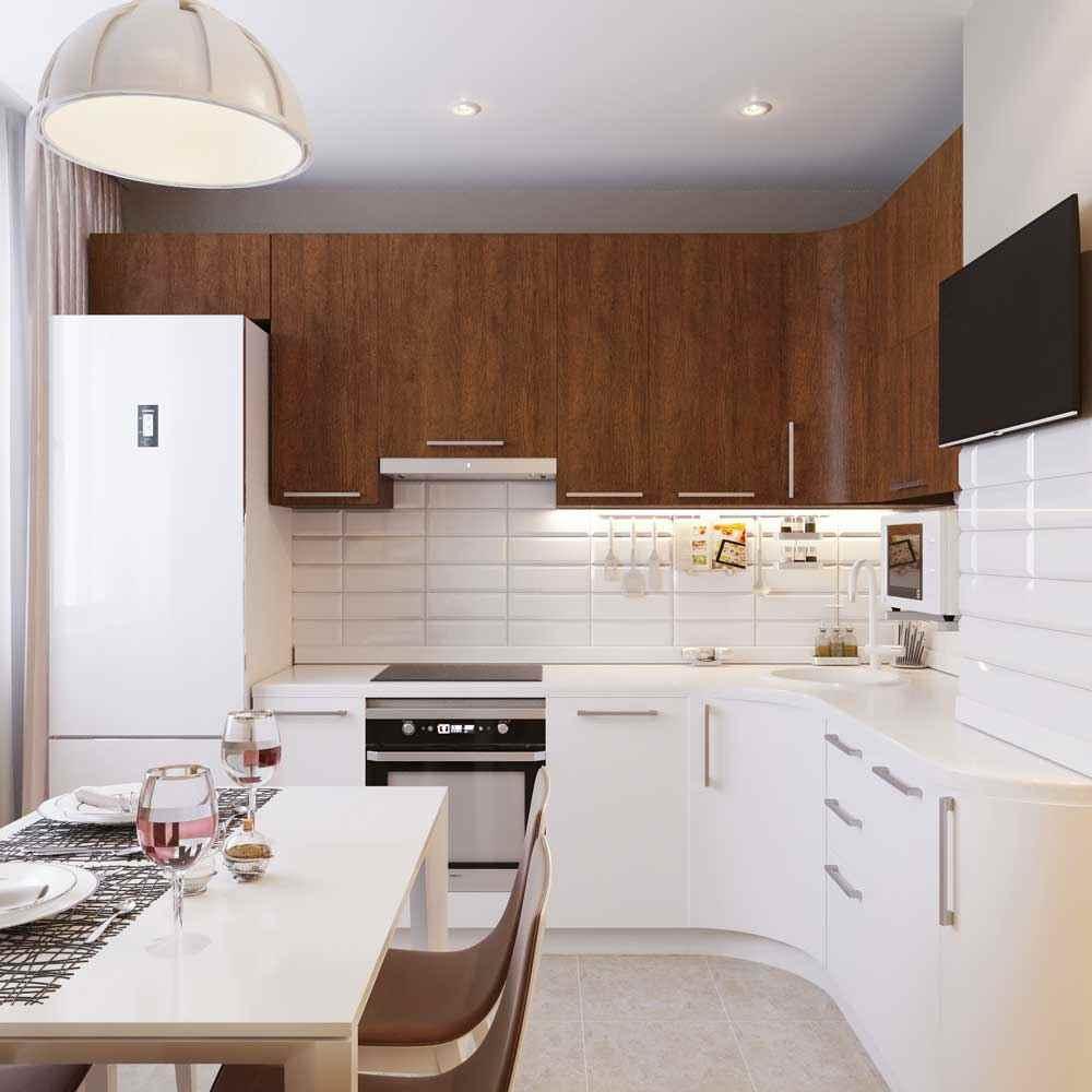 75 خيارات تصميم المطبخ 10 متر مربع سلسلة P 44