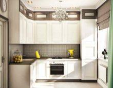 Un exemple d'un bel intérieur de cuisine photo 13 m²