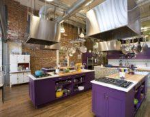 décoration de cuisine loft