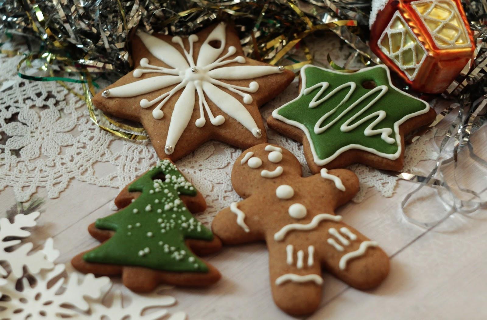 Ziemassvētku piparkūku cepumi