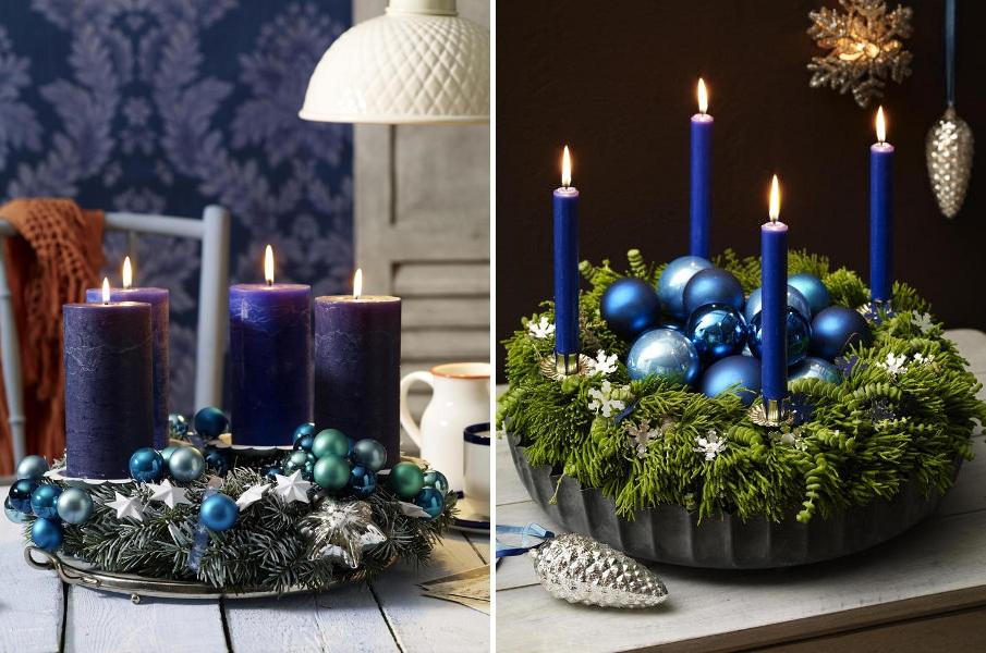 Ziemassvētku sveču rotājums