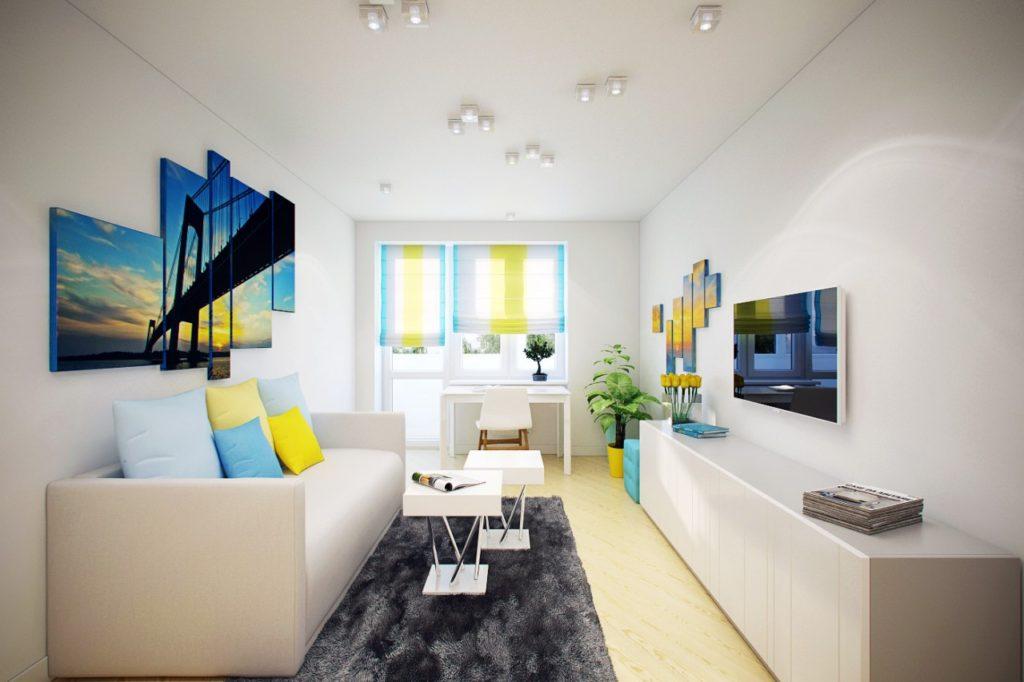 oriģināls dzīvokļa interjers