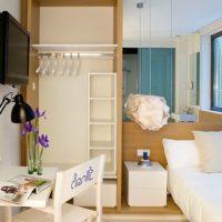 studijas tipa dzīvokļa plānojums