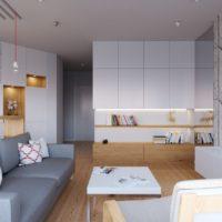 neliela dzīvokļa plānojums