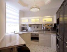 option d'une cuisine lumineuse de 12 m²
