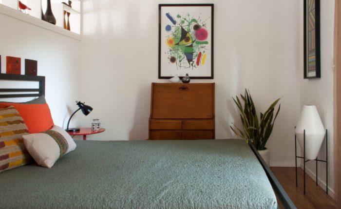 mazas guļamistabas projekts