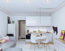 variante d'un beau décor de cuisine photo 7 m²