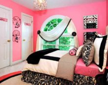 version of the unusual style of a child's room for a girl photo