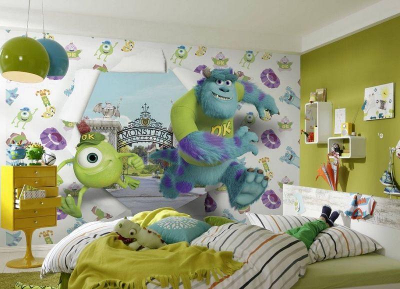 3d тапет в детската стая