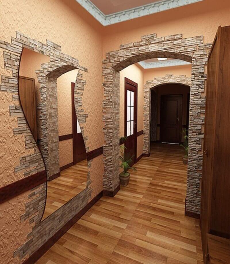 gara arkas koridora dizains