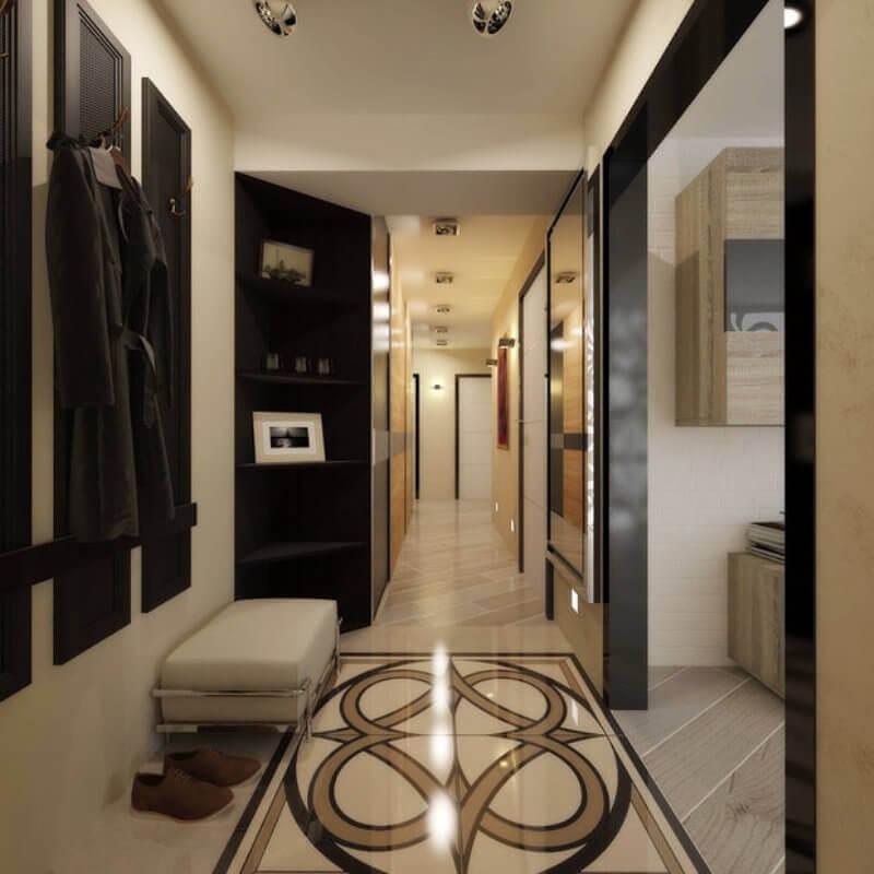 grīda nelielā koridorā