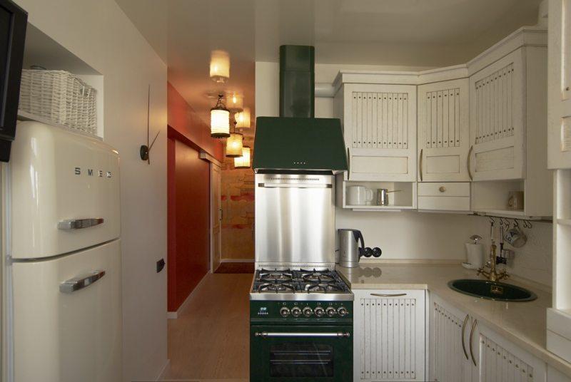 intérieur de cuisine 6 m²