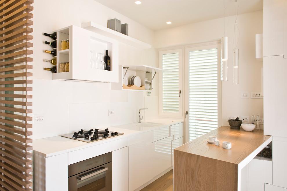 cuisine 6 m² éclairage