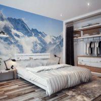 тапети за малка спалня