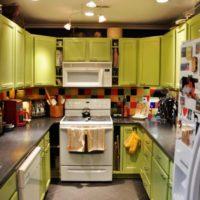 cuisine design 6 m² décoration de plafond