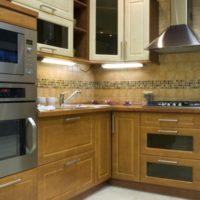 éclairage et design de cuisine 6 m²