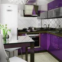 design de cuisine élégant 6 m²