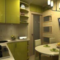 cuisine lumineuse design 6 m²