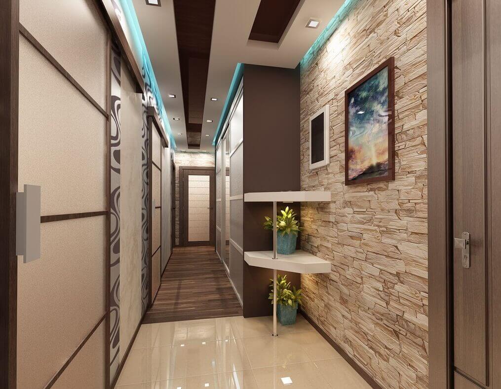 šauri gari koridori