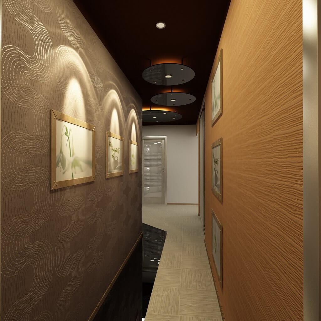 garā koridora dizaina iespēja