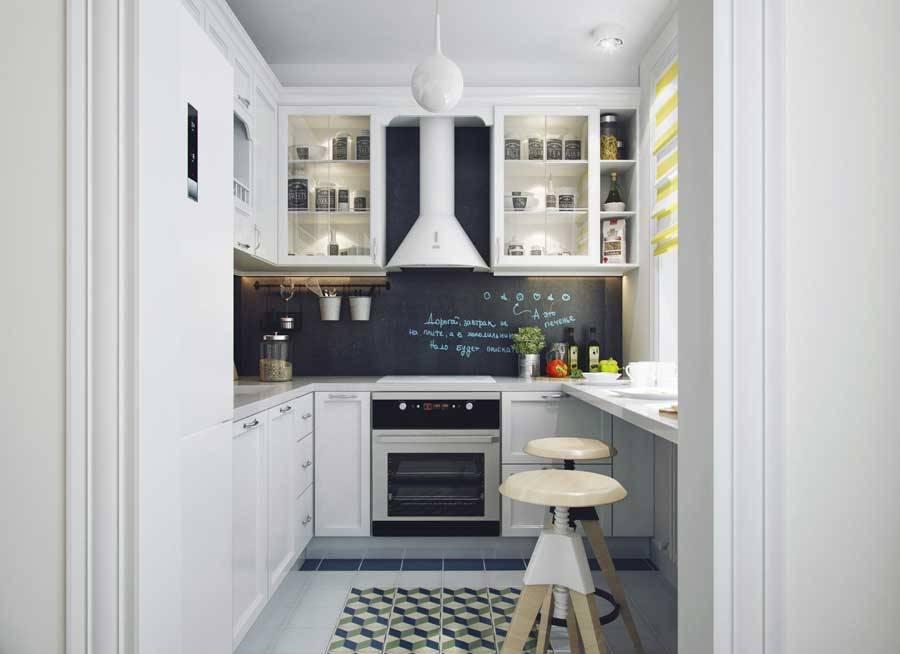 cuisine design 6 m²