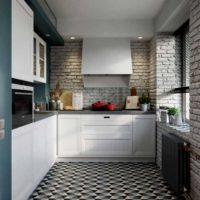 cuisine design mezzanine de 6 m²