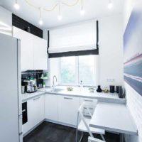 cuisine design 6 m² scandinave
