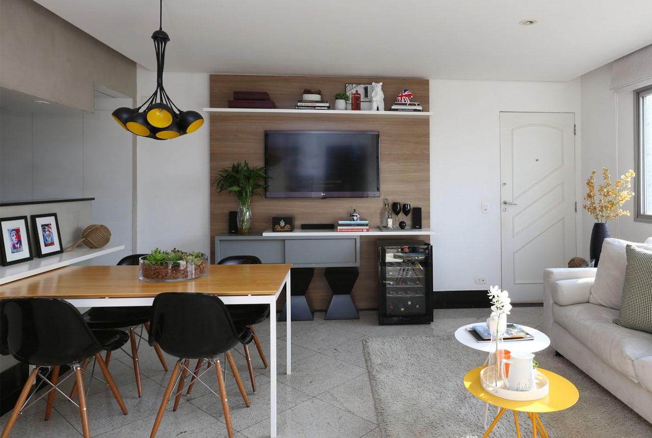 aménagement intérieur d'un studio
