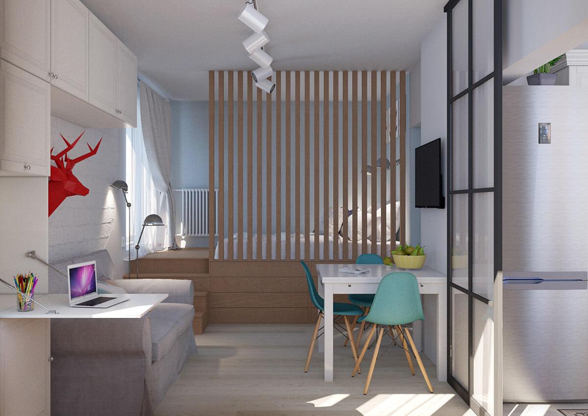 appartement design 36 sq m