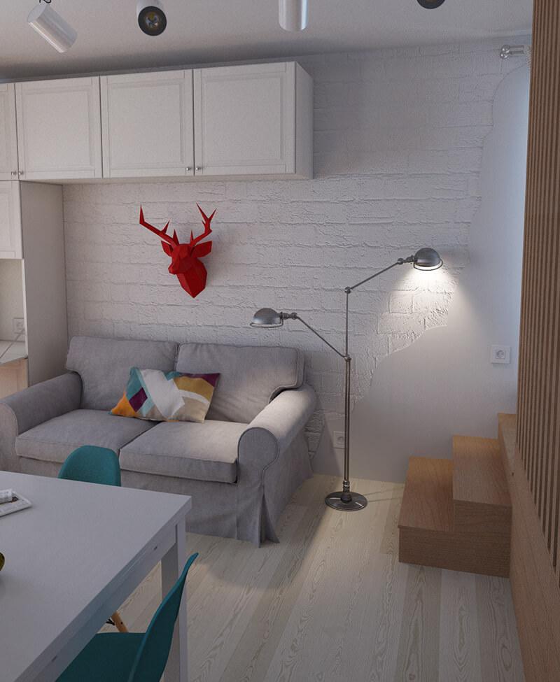appartement design 36 mètres carrés