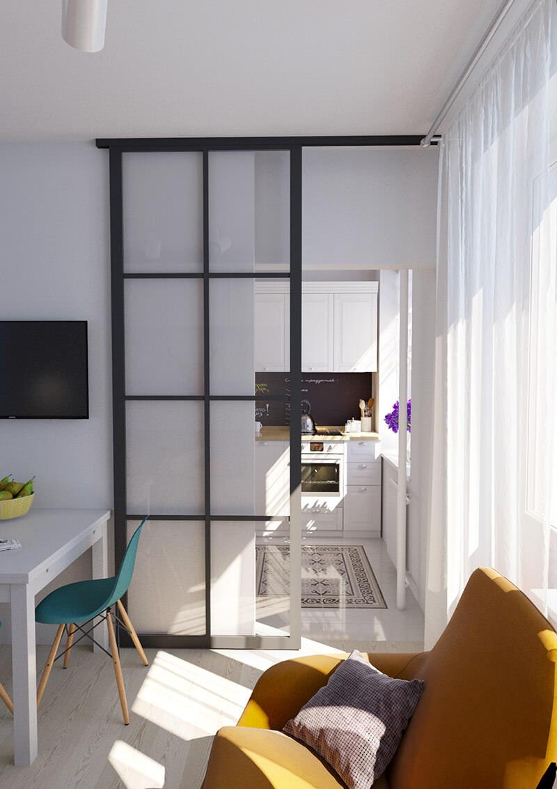 design de l'appartement 36 m