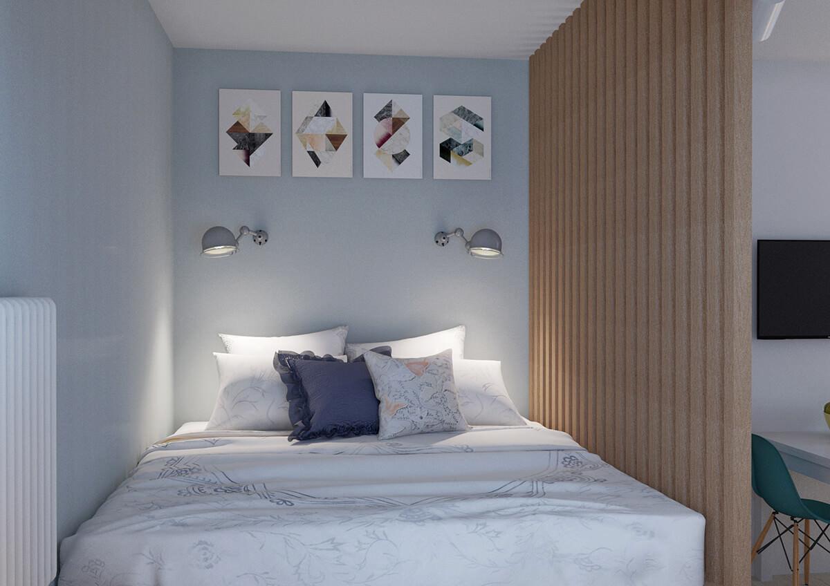 appartement design 36 m2
