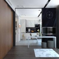 studio de design 36 m²